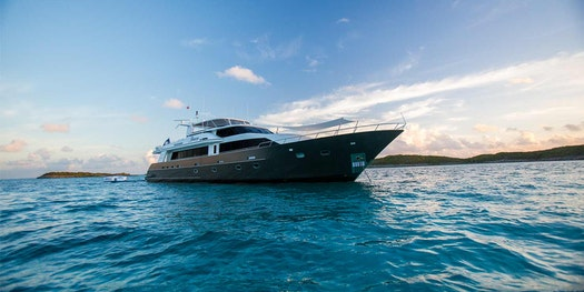 Chris and Robert Desino and 116 Crescent M/Y UNBRIDELED