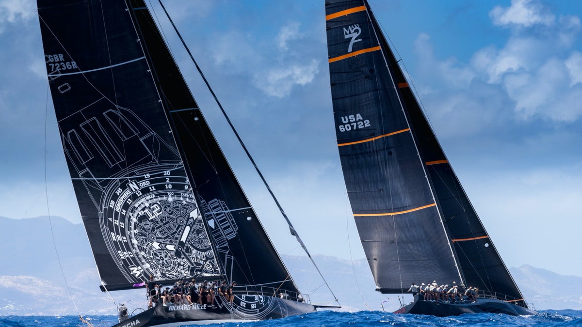 Sailing Yachts in the Les Voiles de Saint Barth