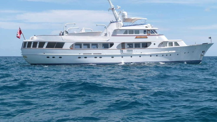 NORTHROP & JOHNSON announces price reduction of  M/Y SEAGULL OF CAYMAN