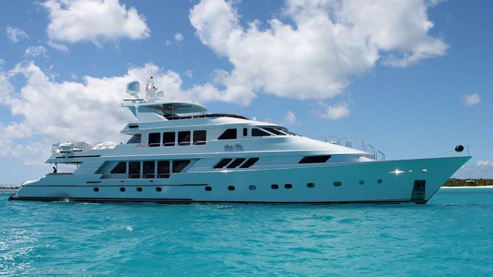 M/Y LADY BEE now available for charter with NORTHROP & JOHNSON