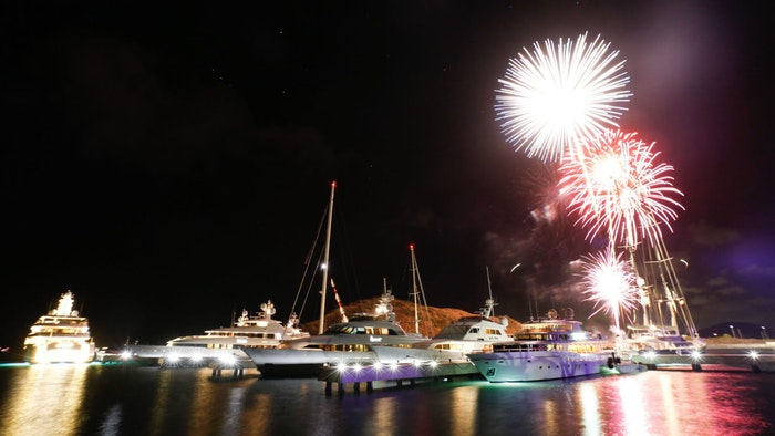 THE MARINA AT CHRISHOPHE HARBOUR OPENS WITH A BANG