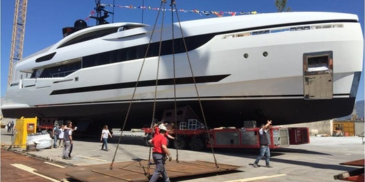 COLUMBUS YACHTS LAUNCHES 97 METERS OF SUPERYACHTS