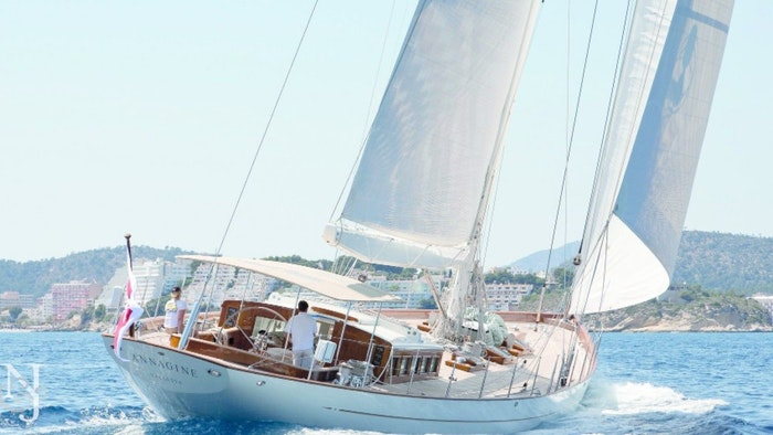PRICE REDUCTION OF SAILING YACHT ANNAGINE