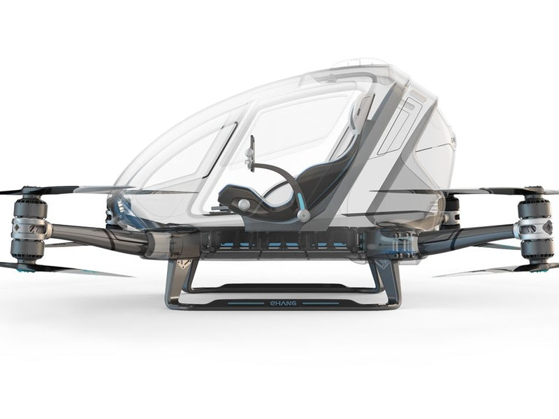 Up & Away — The Ehang 184 Aav