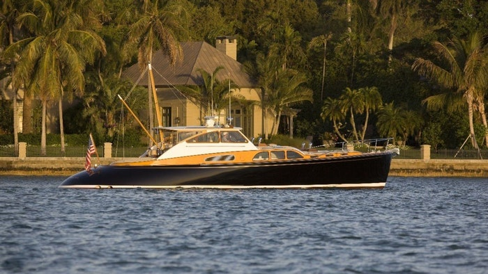 BILLY JOEL'S YACHT VENDETTA FOR SALE AT THE PALM BEACH SHOW