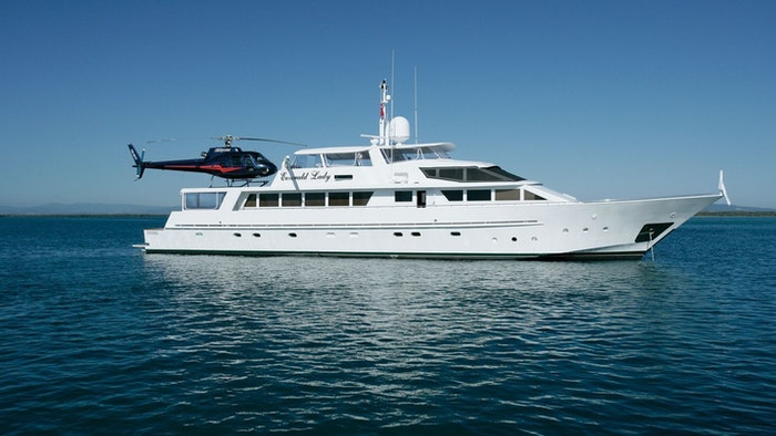 EMERALD LADY NOW FOR CHARTER WITH NORTHROP & JOHNSON