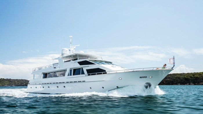 LUXURY YACHT CORROBOREE NOW FOR CHARTER WITH NORTHROP & JOHNSON