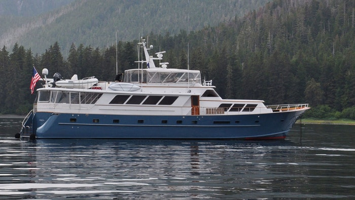 MOTOR YACHT MIDSUMMER DREAM NOW FOR SALE WITH NORTHROP & JOHNSON