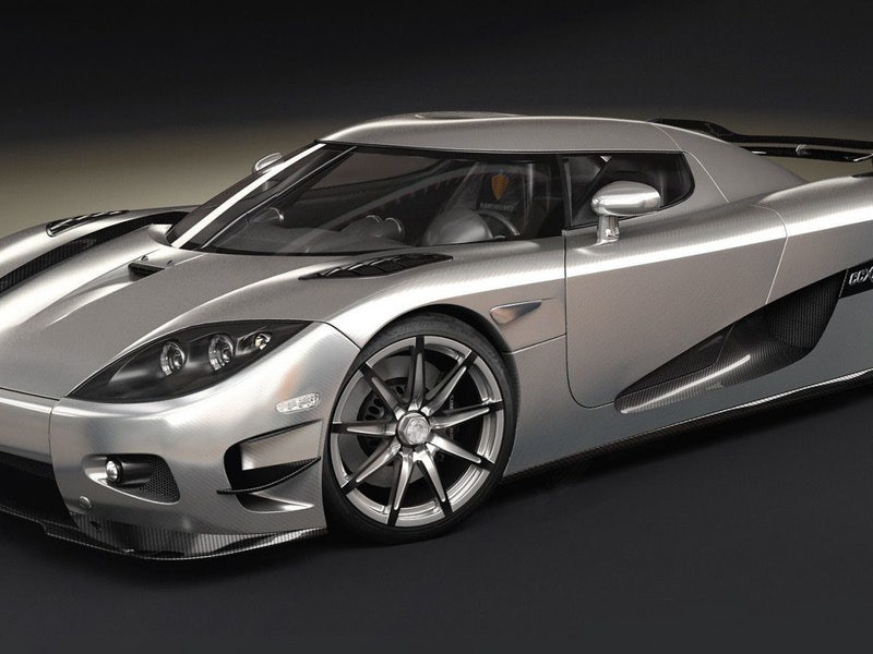 The Koenigsegg Ccxr Trevita