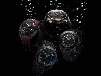 Imported Image - OMEGA'S DEEP BLACK COLLECTION