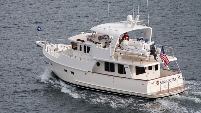 MOTOR YACHT FALCON DE MAR NOW FOR SALE WITH NORTHROP & JOHNSON