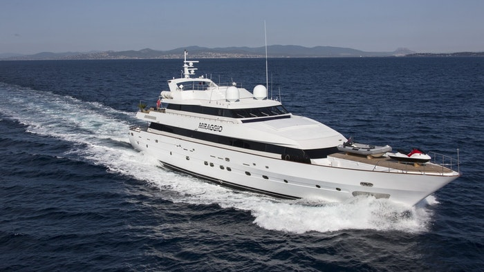 LUXURY SUPERYACHT MIRAGGIO NOW FOR SALE WITH NORTHROP & JOHNSON