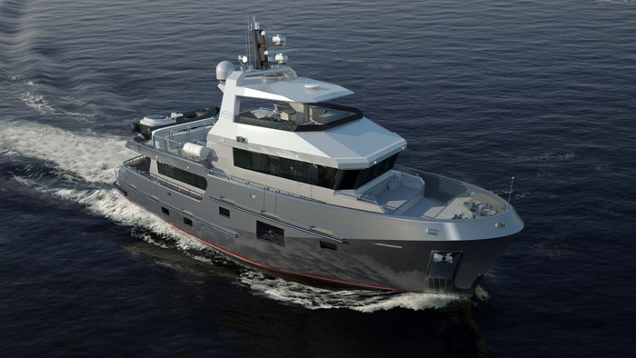 SUPERYACHT BERING 77 FOR SALE