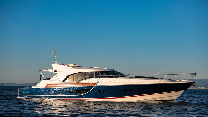 MOTOR YACHT CRYSTAL BLUE FOR CHARTER WITH NORTHROP & JOHNSON