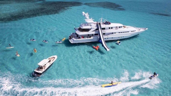 "SUPERYACHT ""AT LAST"" FOR SALE WITH NORTHROP & JOHNSON"