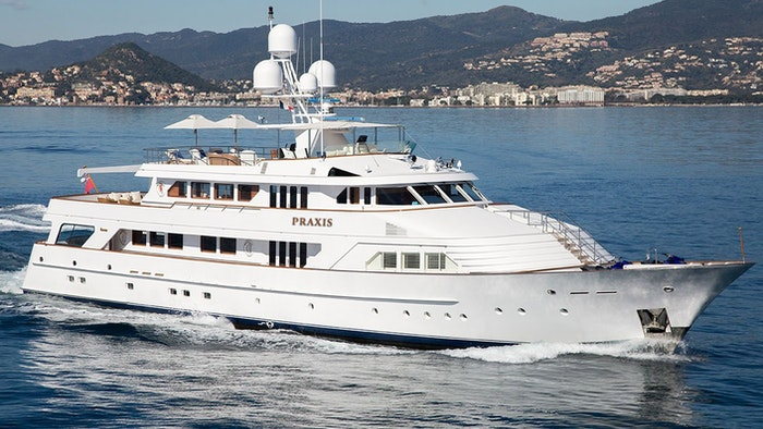 MOTOR YACHT PRAXIS FOR SALE WITH NORTHROP & JOHNSON