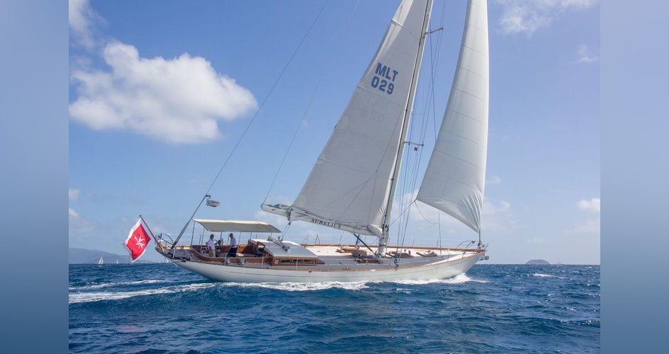 SAILING YACHT AURELIUS FOR SALE WITH NORTHROP & JOHNSON