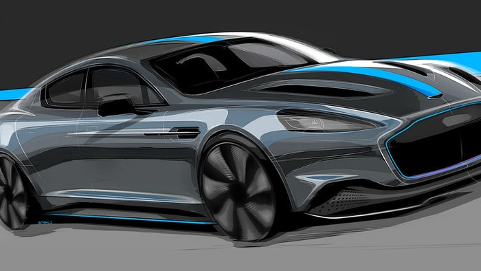 ASTON MARTIN ANNOUNCES PRODUCTION OF THEIR FIRST ELECTRIC CAR