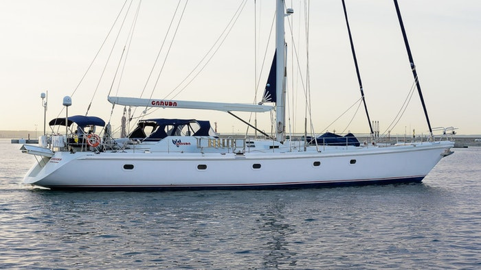 SAILING YACHT GARUDA FOR SALE WITH NORTHROP & JOHNSON