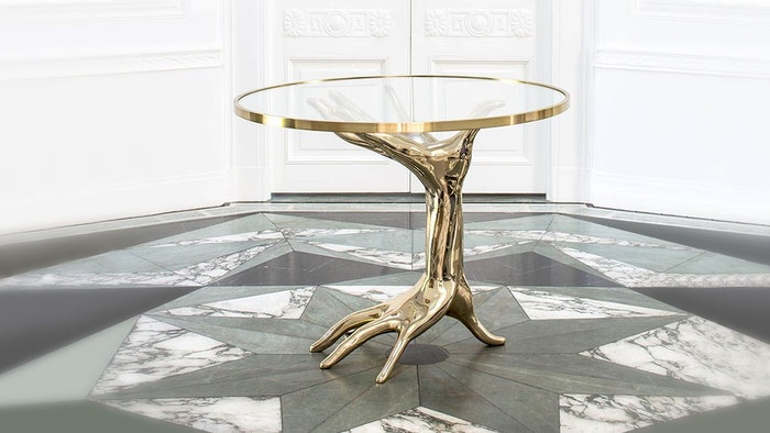 KELLY WEARSTLER'S DICHOTOMY TABLE