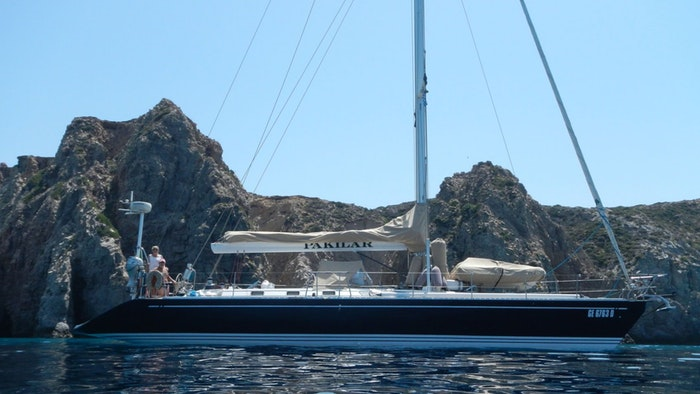 SAILING YACHT PAKILAR FOR SALE WITH NORTHROP & JOHNSON