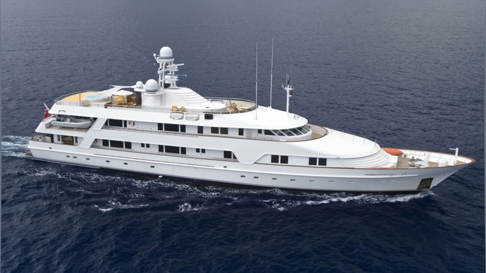 SUPERYACHT VIXIT NOW FOR CHARTER WITH NORTHROP & JOHNSON