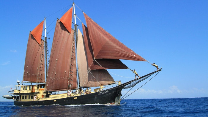 SAILING YACHT ADELAAR NOW AVAILABLE FOR CHARTER