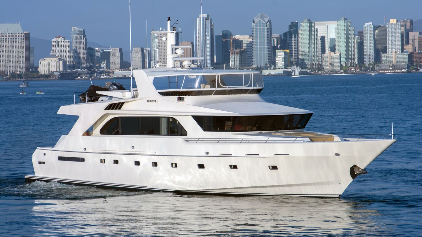 MOTOR YACHT ALTAMAR NOW FOR SALE WITH NORTHROP & JOHNSON