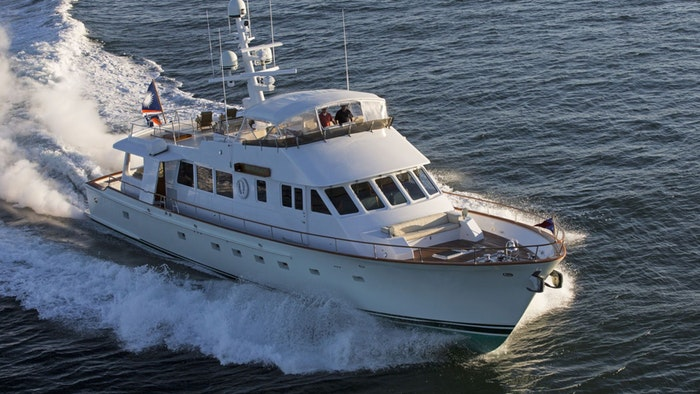 MOTOR YACHT TUMBLEHOME NOW FOR SALE WITH NORTHROP & JOHNSON