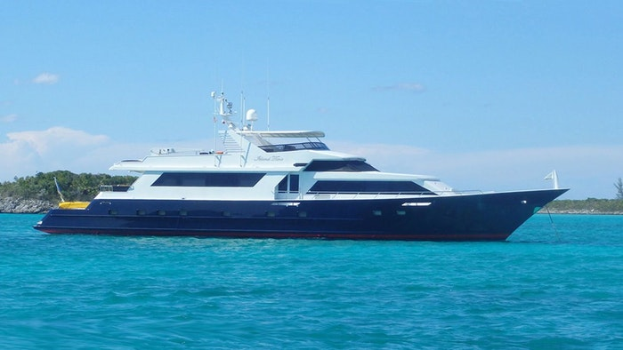 MOTOR YACHT ISLAND TIME NOW FOR SALE WITH NORTHROP & JOHNSON