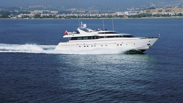 MOTOR YACHT AQUARIUS S NOW FOR SALE WITH NORTHROP & JOHNSON