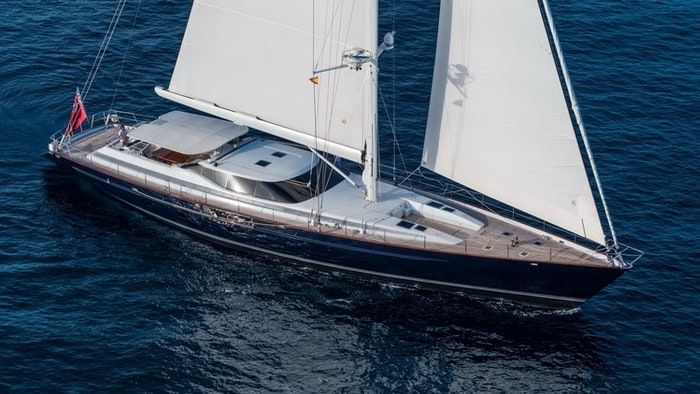 SAILING YACHT SOVEREIGN NOW FOR SALE WITH NORTHROP & JOHNSON