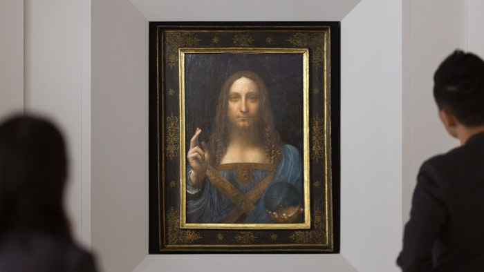 DA VINCI ART SELLS FOR $450.3 MILLION
