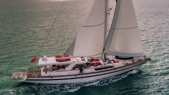 SAILING YACHT TARONGA NOW FOR SALE WITH NORTHROP & JOHNSON