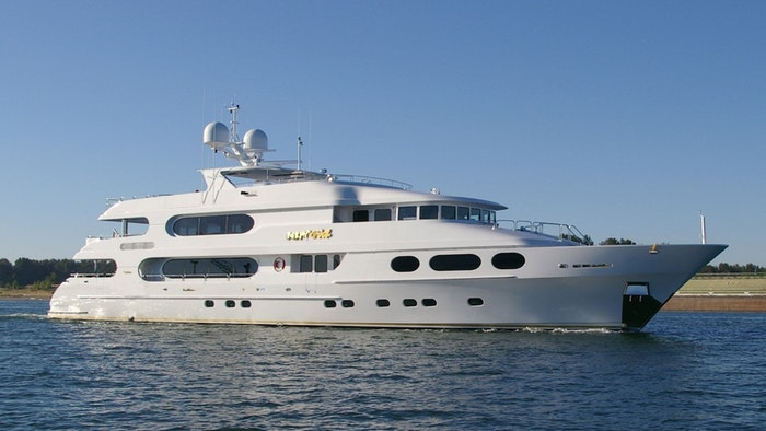 SUPERYACHT PARTY GIRL SOLD BY NORTHROP & JOHNSON