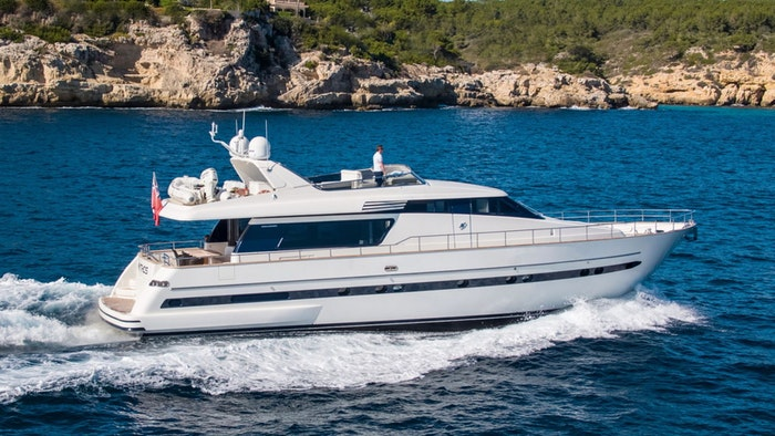 MOTOR YACHT MYTHOS NOW FOR SALE WITH NORTHROP & JOHNSON