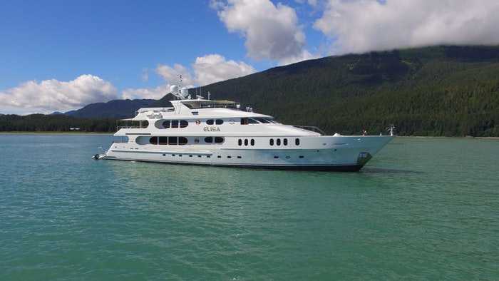 SUPERYACHT ELISA NOW FOR SALE WITH NORTHROP & JOHNSON