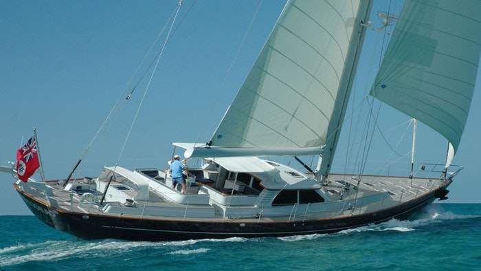 LUXURY SAILING YACHT CABOCHON SOLD