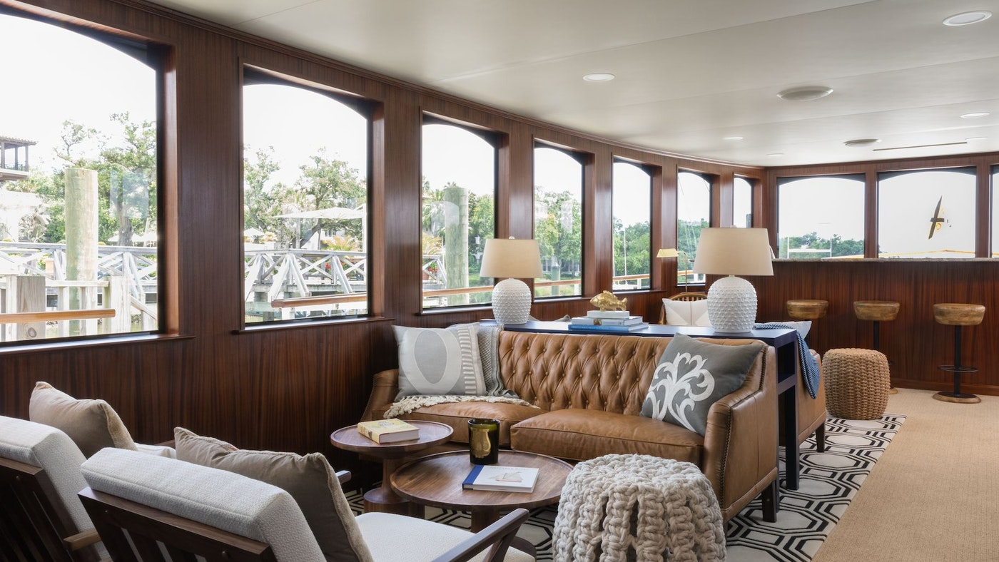 SEA ISLAND UNVEILS SPECIALLY DESIGNED CLASSIC YACHT