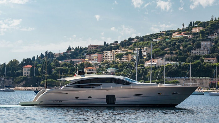 M/Y Lounor Pershing 80 (24.5m) Now for Sale