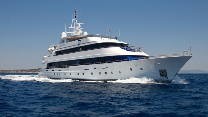SUPERYACHT IONIAN PRINCESS RECEIVES A PRICE REDUCTION