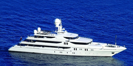 John Rosatti and 214 (62.25m) Codecasa superyacht Double Down