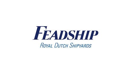 Feadship yachts and shipyard logo