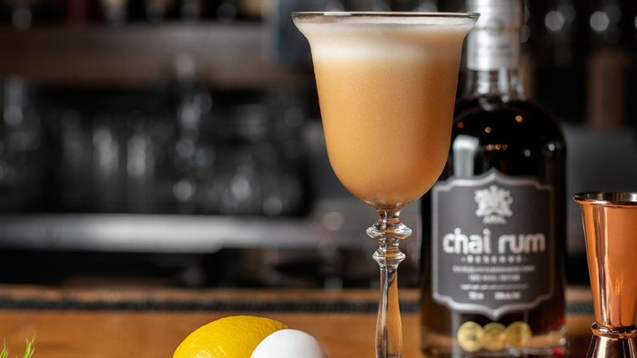 Favorite Yacht Charter Cocktails: Maple Chai Sour