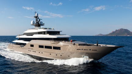Solo tankoa superyacht for sale and charter in the Mediterranean sea