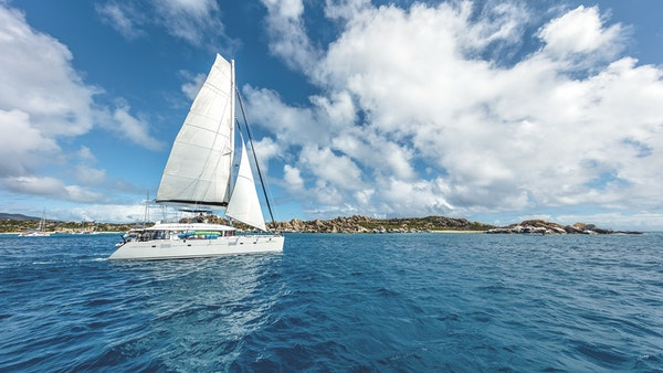 BVI Sailboat