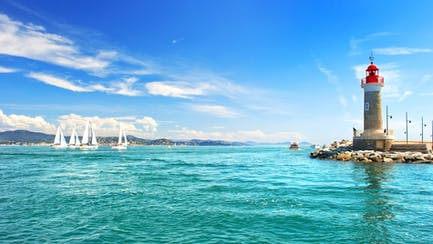 French Riviera yacht charters in St Tropez and sailboats along the Mediterranean coast