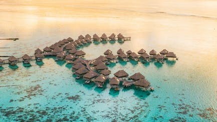 On-water bungalows