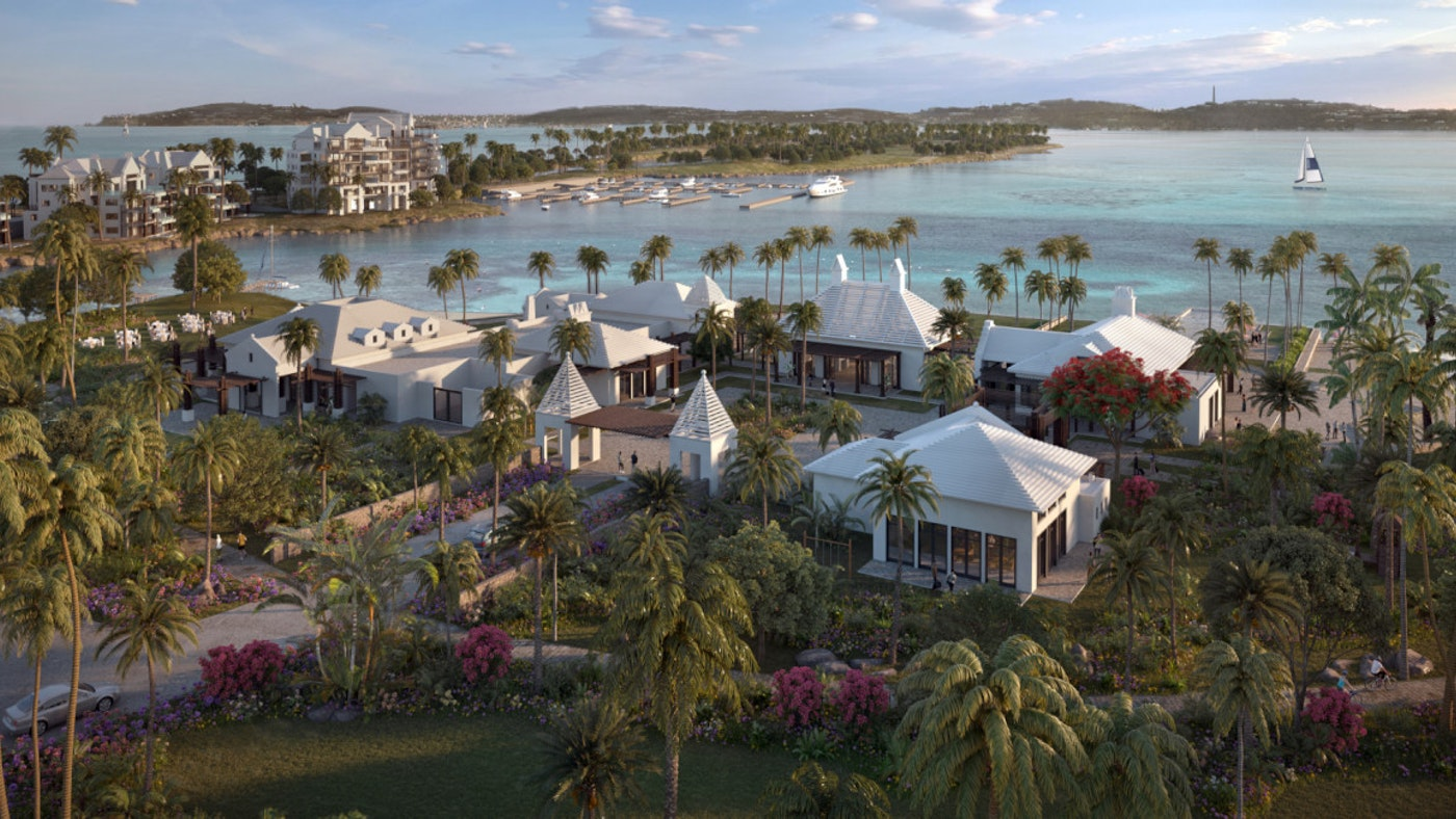 THIS IS THE NEW BERMUDA — FIRST RITZ-CARLTON RESERVE RESIDENCE WITH A SUPERYACHT MARINA
