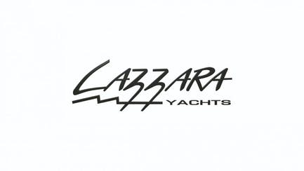 Lazzara shipyard and yacht brand logo
